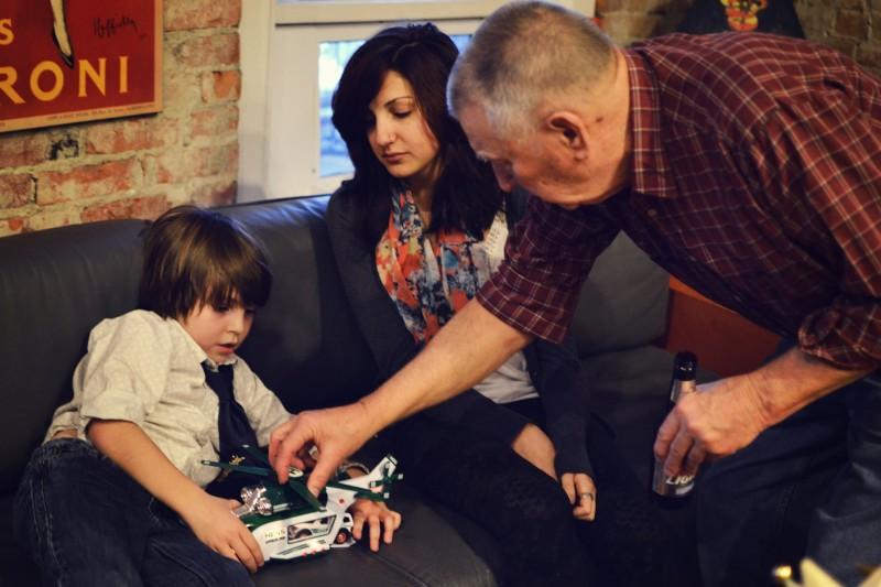 Augi, Maddie, & Pop Pop
