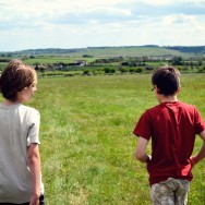 Aidan and William