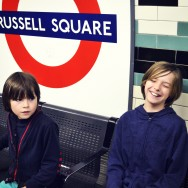 our tube stop: Russell Square