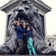 Lions eat children