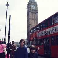 the kids and Big Ben