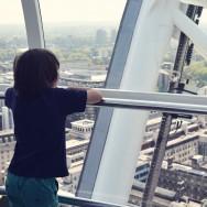 Augie on London Eye
