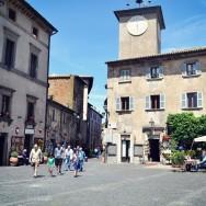 Orvieto town square