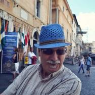 Grandpa makes a funny face
