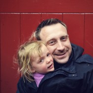 Freya and Daddy