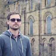 Jason at Durham Cathedral
