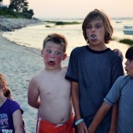 lily cooper aidan augie silly face