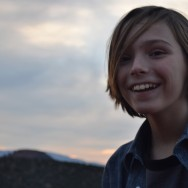 aidan sunset smile